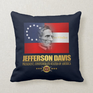 Davis (Southern Patriot) Throw Pillow