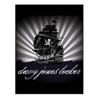 davy jones locker postcard
