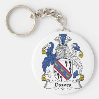 Dawes Family Crest Keychains