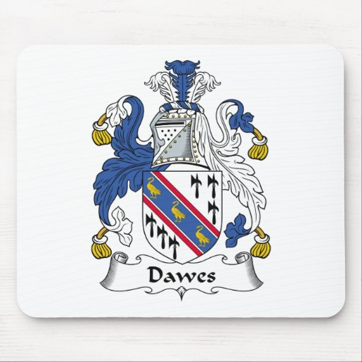 Dawes Family Crest Mouse Pads