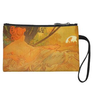 Dawn and Dusk Art Nouveau Mini Clutch Bag