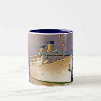 Dawn Arrival Two-Tone Coffee Mug