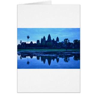 Dawn at Angkor Wat Card