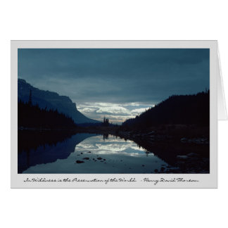 Dawn at Banff National Park Card