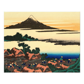 Dawn at Isawa in Kai Province Photographic Print