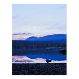 Dawn at Little Lava Lake, Oregon Postcard