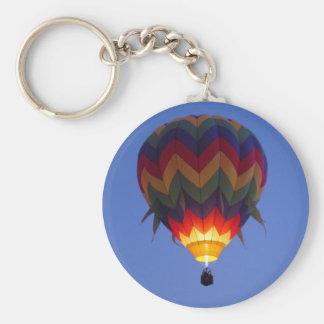 Dawn balloon flight keychain