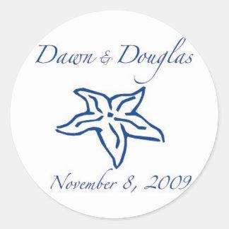 dawn & douglas sticker