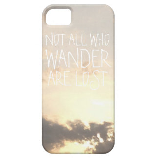 Dawn dusk sky landscape with clouds nature photo iPhone 5 case