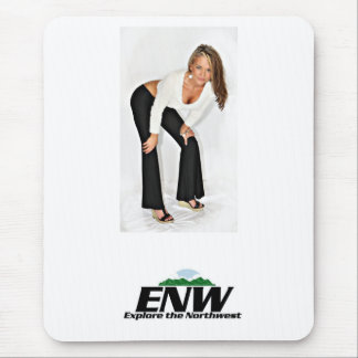 Dawn from the TV show Explore the Northwest Mouse Pad