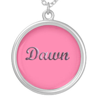 Dawn_Name Necklace