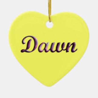 Dawn_Name Ornament