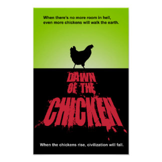 DAWN Of The CHICKEN Poster