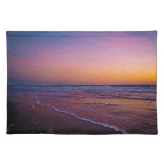 Dawn on Daytona Beach Atlantic Coast Modern Art Placemat