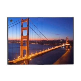 Dawn over San Francisco and Golden Gate Bridge. Case For iPad Mini