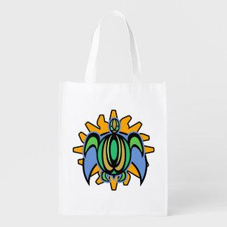 Dawn Turtle Reusable Grocery Bag