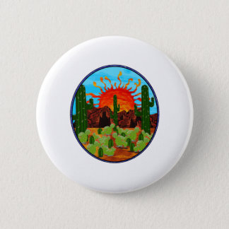 DAWNING DAY 2 INCH ROUND BUTTON