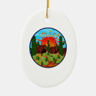 DAWNING DAY CERAMIC ORNAMENT