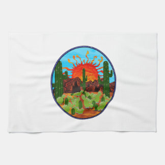 DAWNING DAY KITCHEN TOWEL