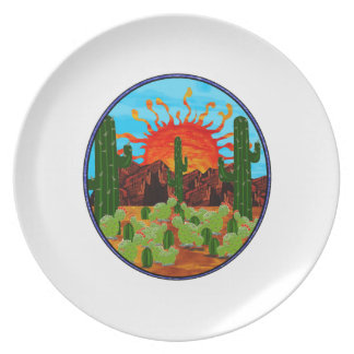 DAWNING DAY PLATE