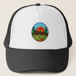 DAWNING DAY TRUCKER HAT