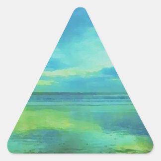 Dawning Glory Triangle Sticker