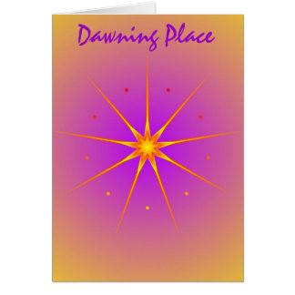 Dawning Place Card