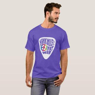 Dawn's Make Music Not War Guitar Pick Peace Unisex T-Shirt