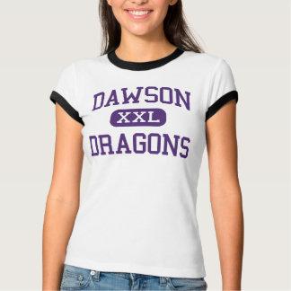 Dawson - Dragons - High School - Welch Texas T-Shirt