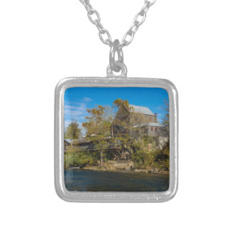 Dawt Mill Silver Plated Necklace