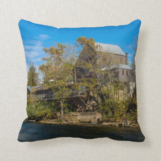 Dawt Mill Throw Pillow