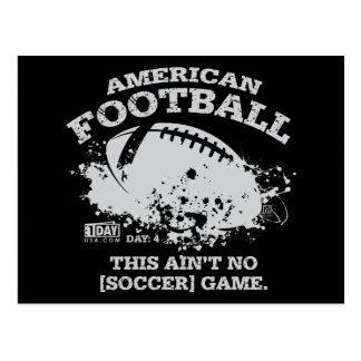 "Day : 4 - ""Football"" Postcard"