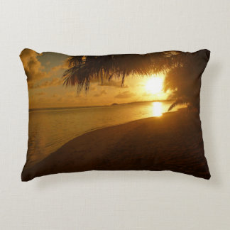 Day and evening decorative pillow