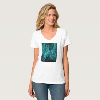 Day and Night water color T-Shirt