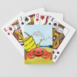 Day at the Beach Playing Cards
