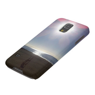 Day at the beach Samsung phone case