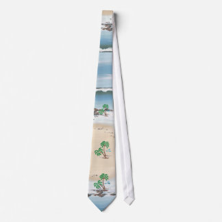 day at the beach tie