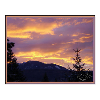 Day Break Sullivan Mountain Postcard