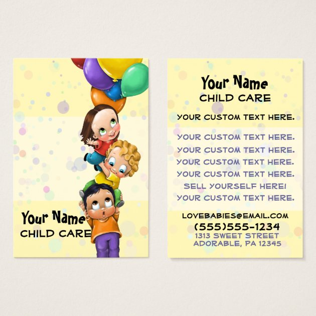 Child care coupons