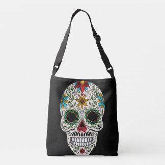 Day Dead Sugar Skull All-Over-Print Cross Body Bag