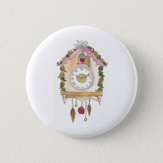 Day Fifty two - Cuckoo Clock 2 Inch Round Button