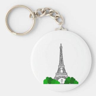 Day In Paris Keychain