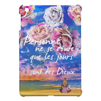 Day is  a gift iPad mini cover