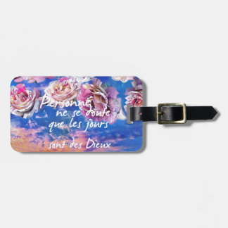 Day is  a gift luggage tag