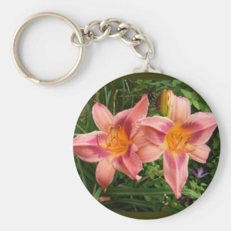 Day Lily 112 ~ keychain
