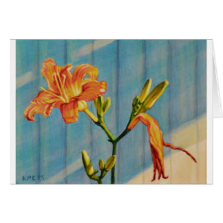 Day Lily Cycle Card