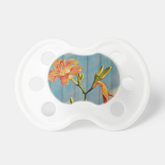 Day Lily Cycle Pacifier