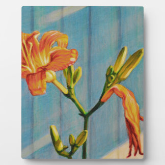 Day Lily Cycle Plaque