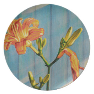 Day Lily Cycle Plate