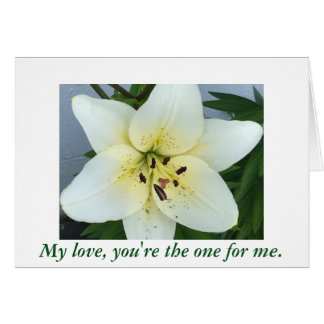 Day Lily Flower Will you marry me Proposal Cards